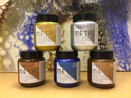 Resi-Metal Pigments