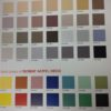 Acryl Deco Colour Chart
